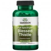 Swanson Drapacz Lekarski (Blessed Thistle) 400 mg 90 kapsułek