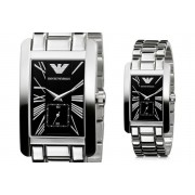 Emporio Armani s AR0156 Stainless Steel Square Watch