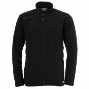uhlsport Fleecejacke ESSENTIAL - schwarz | XL