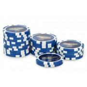 Rouleau 25 Jetons Laser Las Vegas $10 Bleu