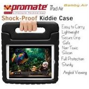 Promate Bamby.Air Shockproof Impact resistant case with convertible stand Colour:Black   6959144003726