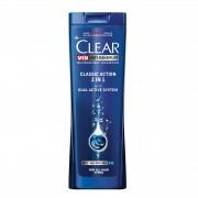 Clear Sampon, Barbati, 250 ml, Classic Action 2 in 1
