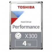 "4TB Toshiba X300, SATA 6Gb/s, 7200 rpm, 128 MB, 3.5"" (8.89 cm), bulk"