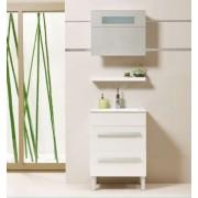 Premium White 60 Fürdőszobaszekrény komplet