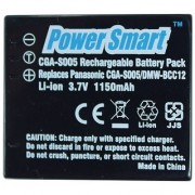 Power Smart 1150mAh Replacement Battery for Panasonic CGA-S005 and DMW-BCC12 - Black