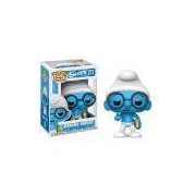 Funko Pop Animation: Smurfs - Brainy Smurf #271
