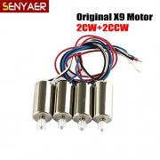 Generic 4pcs/set Original Syma Motor Accessories For X9 RC Quadcopter Spare Parts Helicopter Replacement Motors Parts