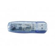 Intenso Rainbow Line USB-minne 4 GB Blå 3502450 USB 2.0