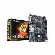 T. Madre Gigabyte H310M DS2, Chipset Intel H310, Soporta, Core i7 /