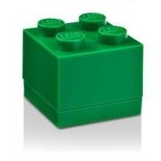 Minipudelko klocek LEGO® z 4 wypustkami (Dark Green)