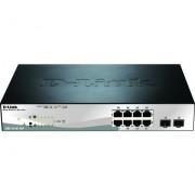 D-Link neon-rood/neon-blauw »DGS-1210-10P 10-Port PoE Gigabit Smart Managed« - 239.99 - zwart