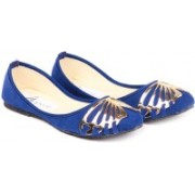 Ignis Toe Butterfly Bellies For Women(Blue)