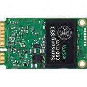 Samsung ssd 850 evo msata 500gb read 540 mb/sec, write 520 mb/sec, 3d v-nand, mgx controller - mz-m5e500bw