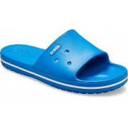 Crocs Crocband™ III Slides Unisex Bright Cobalt / White 43
