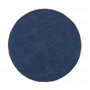 myfelt - Alva Filzteppich Ø 140 cm, dunkelblau