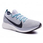 Обувки NIKE - Zoom Fly Fk AR4561 004 Wolf Grey/Black/Blue Fury