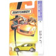 2007 Matchbox #5 Golf V GTI Gold Collectibles Collector Car