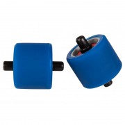 Roti Heelys Fats Wheels Abec 5 Blue