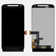 LCD + Touch + Frontal para Motorola moto G 2014 Preto completo