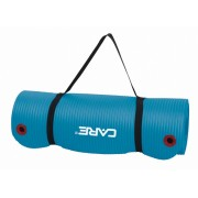 Care Fitness fitnessmat 183 x 61 cm 1,5 cm blauw