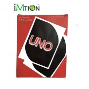 IMTION UNO Playing Flash Cards for Kids Table Fun Game (UNO Card + with Calculator Watch 1 pcs Multicolour)
