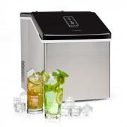 Klarstein Clearcube, машина за лед, 13 kg/24 h, неръждаема стомана, черна (Klarstein Clearcube)