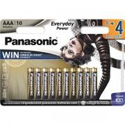 PANASONIC baterije LR03EPS/10BW 64F Alkal. Everyday Power LR03EPS/10BW 6+4F.