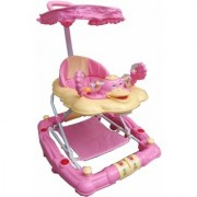 Oh Baby 7 In 1 Function Duck Shape Musical Pink Color Walker For Your Kids SE-W-16