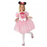 Disfarce Minnie cor-de-rosa vestido para menina - Taille: 7 - 8 anos (128 cm)
