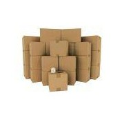 Socepi Kit trasloco versione Super - 60 scatole cartone doppia onda +matriale da imballaggio vario