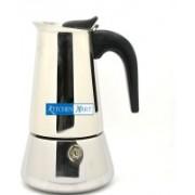 Kitchen Mart Atlasware 150 ml 2 cups Coffee Maker(Silver)