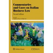 Commentaries and cases on italian business law, Sacco Ginevri, Cedam, 2019, Libri, Diritto commerciale