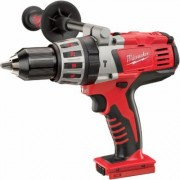 Milwaukee 28V Lithium-Ion Cordless Electric Hammerdrill - Tool Only, 1/2 Inch Keyless Chuck, 1,800 RPM, Model 0726-20