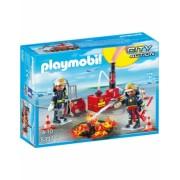 Operatiunea Pompierilor Playmobil