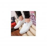 Zapatos Cómodos y Casual para Hombre-Blanco