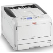 Imprimanta laser color OKI C833dn, A3, 35ppm, Duplex, Retea, Wireless (Alb)