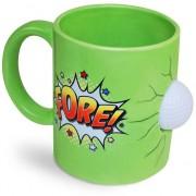 Merkloos Kado koffiemok groen golffanaat