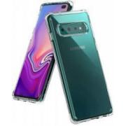 Husa Premium Ringke Fusion Samsung Galaxy S10 Transparenta
