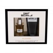 David Beckham Classic подаръчен комплект EDT 40 ml + душ гел 200 ml за мъже