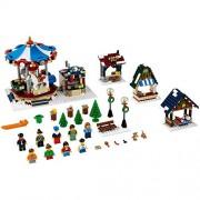 Generic Lepin 36010 1412PCS Creator Winter Village Market Educational Building Blocks Bricks Toys for Children Christmas Gift 10235