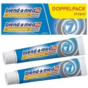 Tandpasta Blend-a-med Complete White 2x75 ml