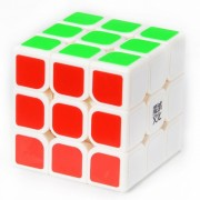 Moyu Aolong 57mm 3x3x3 Smooth Speed Magic Cube Puzzle Toy for Children? Adults - White