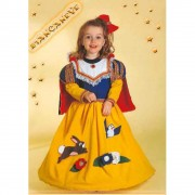 Costume Biancaneve Baby tg. 2/3 anni