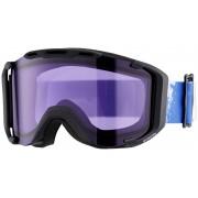 UVEX snowstrike stimu lens goggles violet/zwart 2016 Goggles