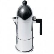 Alessi A9095/6 B La Cupola Caffettiera Espresso In Fusione Di Alluminio