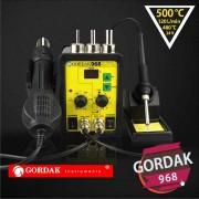 Statie de lipit cu aer cald si letcon Gordak 968