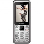 Niamia CAD 2 Silver Basic Keypad Feature Mobile Phone