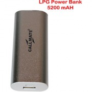 Callmate Power Bank LPG 5200 Mah - Silver