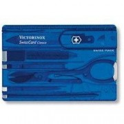 Victorinox Swiss Card Classic Translucent kék