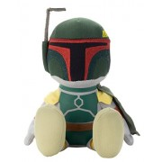 Star Wars beans collection Boba Fett stuffed toy sitting height about 17cm